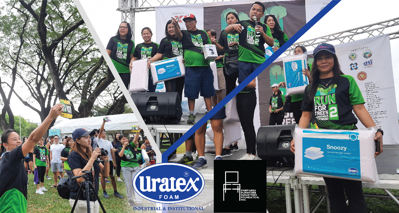 Uratex for Business Supports PFIF's Run for Trees 2