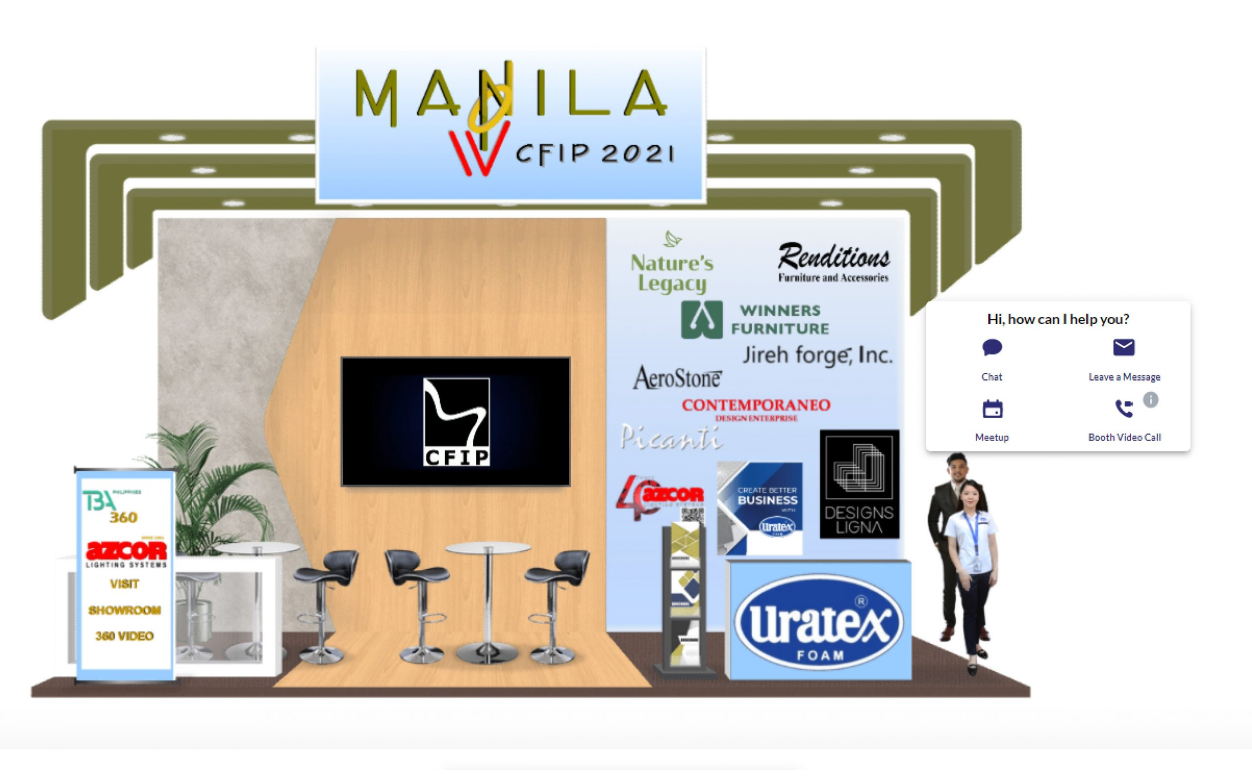 Manila Now x CFIP and Uratex for Business for the Very First PHILCONSTRUCT Virtual 2021
